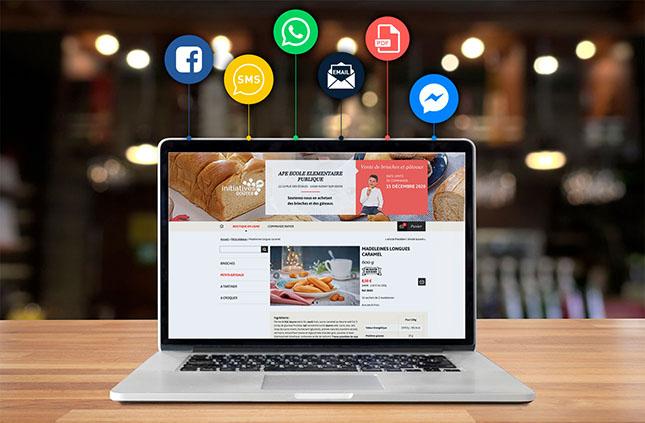 Ouvrez votre boutique en ligne